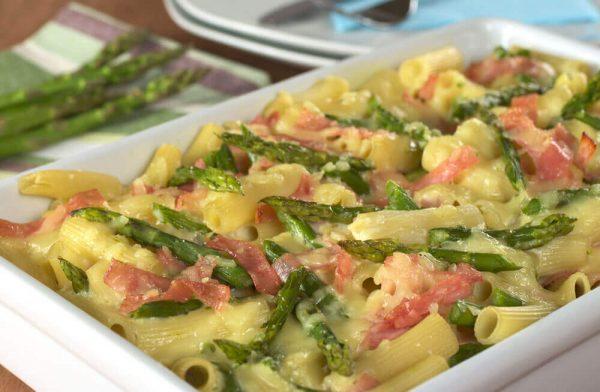 immagine Pasta agli asparagi e prosciutto Blog senza glutine ricette