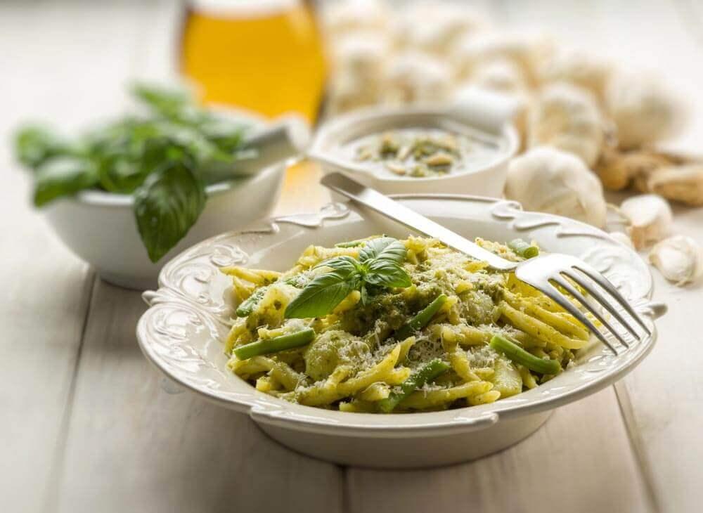 immagine Pasta senza glutine al pesto, patate e fagiolini Blog senza glutine ricette