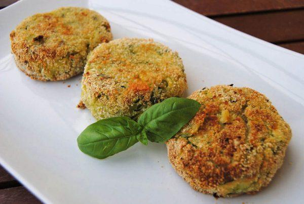 immagine Polpette alle zucchine ripiene di provola Blog senza glutine ricette