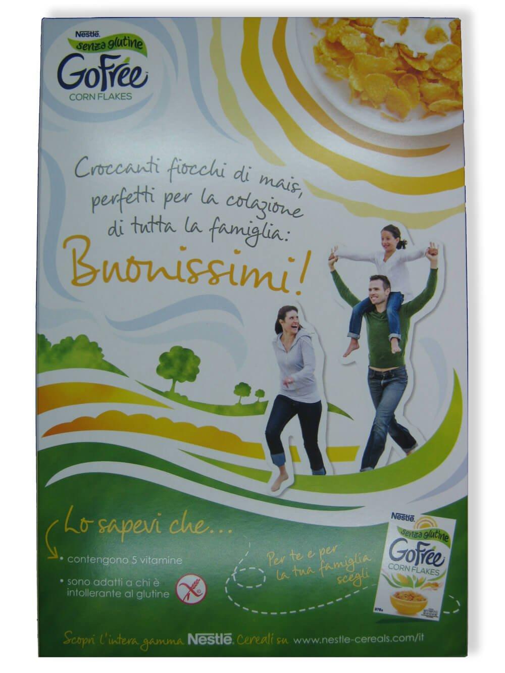 immagine corn flakes Nestlé retro
