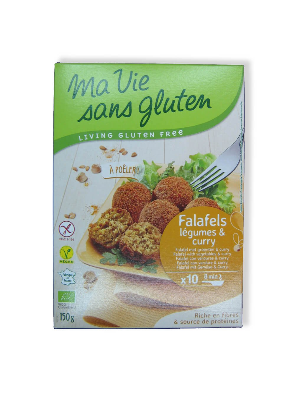immagine falafels Ma vie sans gluten