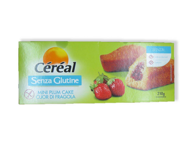 immagine Mini plumcake fragola Céréal