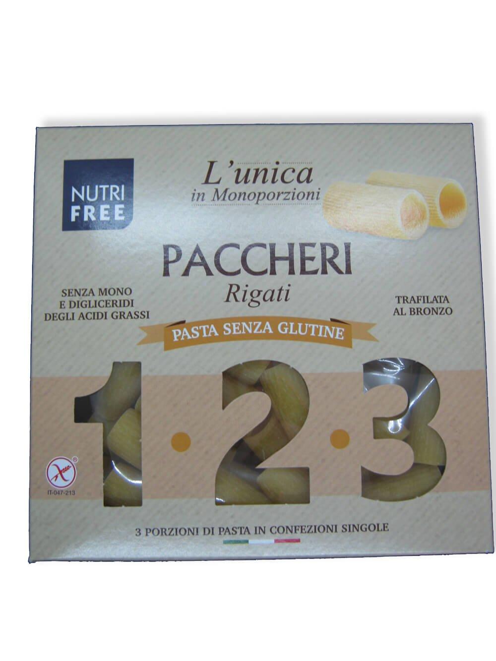 immagine paccheri Nutrifree