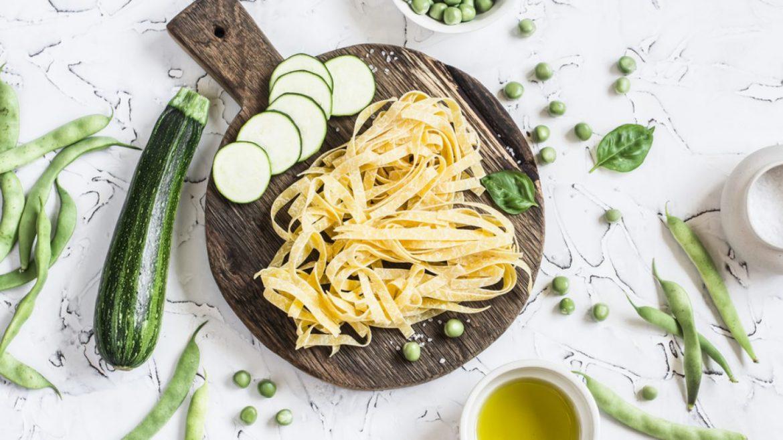 tagliatelle senza glutine con zucchine