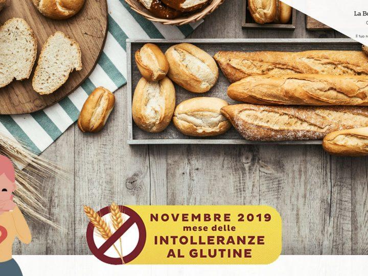 Novembre 2019 mese delle intolleranze al glutine.